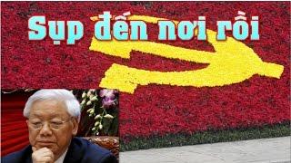 TBT Nguyễn Phú Trọng tuyên bố nguy cơ sụp đổ của đảng cộng sản Việt Nam