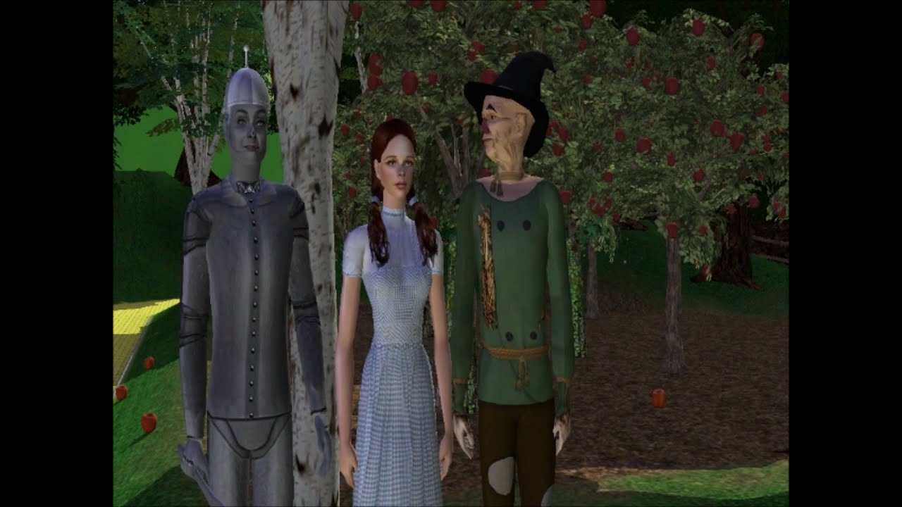 The Wizard Of Oz Sims 2 Full Movie Part 4 We Re Off To
