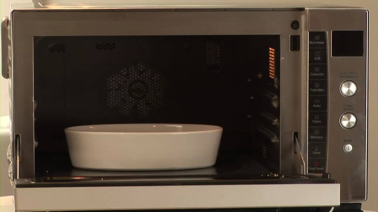 Panasonic Flatbed Combination Microwave Oven Nn Cf778s