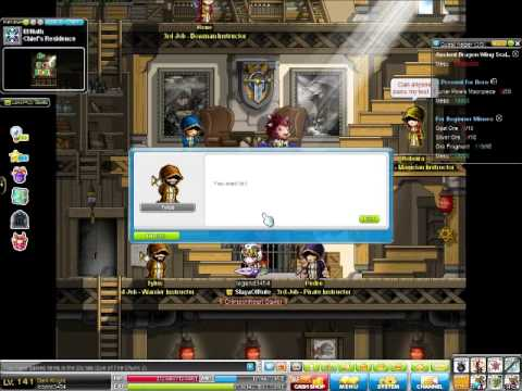 Maplestory Crumbling Zakum Boss Run