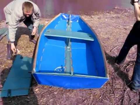 брезентовые самодельные лодки