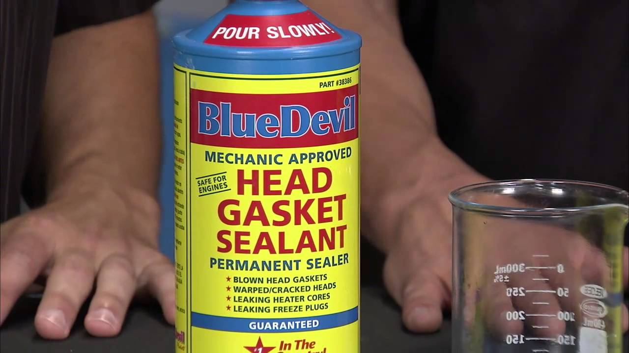 blue devil head gasket instructions