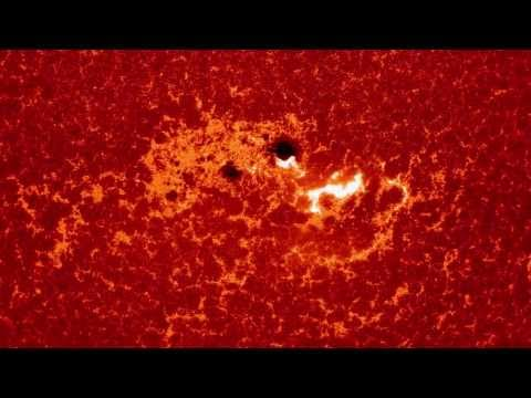 Sun Releases Powerful X1.2 Class Solar Flare | NASA SDO Space Science HD