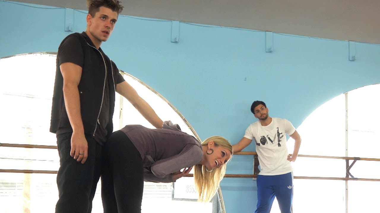 prank vs prank flirtatious dance prank Has a persona called chip chocolate and produced a rap song called cookie dance and have staged three proposal pranks ↑ jesse wellens.
