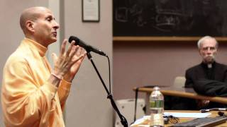 Radhanath Swami at Harvard University