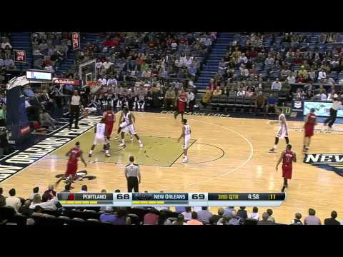 Portland Trail Blazers vs New Orleans Pelicans | March 14, 2014 | NBA 2013-14 Season