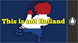 CGP Grey: Holland vs the Netherlands