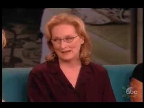Meryl Streep - The View 2013 - August: Osage County