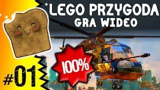 LEGO Przygoda Gra Wideo 100% Plac Budowy W Klocburgu