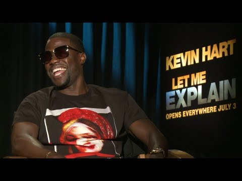 Kevin Hart Freestyle (Funny) + talks Let Me Explain (New Movie)