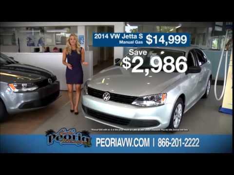Lunde's Peoria Volkswagen - 2014 Volkswagen Turbocharged Sales Event - Jetta