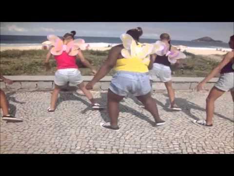 BONDE DAS BONECAS - QUADRADINHO TIPO BORBOLETA [BONDE DAS MARAVILHAS]