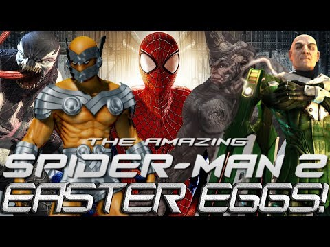 The Amazing Spider-Man 2 Game: Easter Eggs!