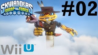 Skylanders SWAP Force Wii U Co-Op- Chapter 2: Cascade