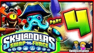 Skylanders Swap Force Wii U Walkthrough Part 4 Mudwater
