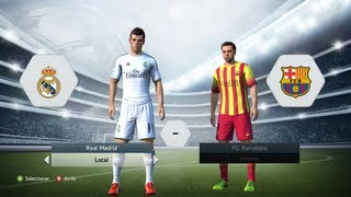 FIFA 14 Real Madrid CF Vs FC Barcelona GAMEPLAY