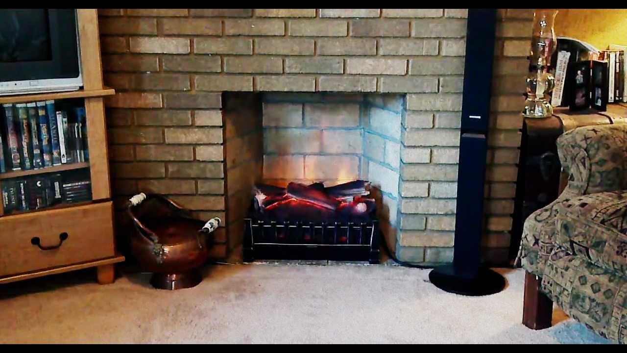 duraflame electric fireplace insert model dfi020aru second