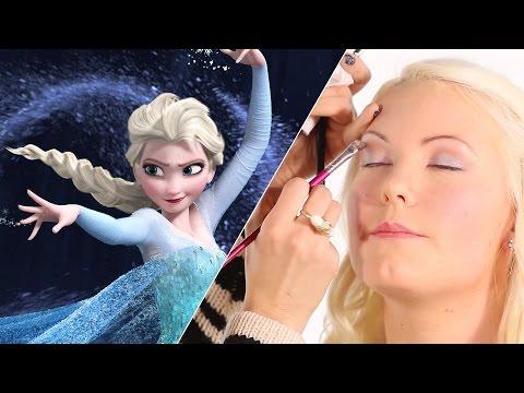 Frozen Inspired DIY Makeup