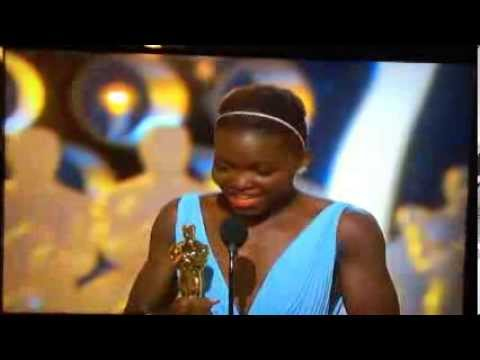 Lupita Nyong'o's Beautiful Oscar Speech for *Best Supporting Actress* for *12 Years a Slave!*