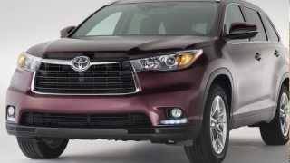 Toyota Highlander 2014 - слайд на Mihelson.tv