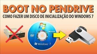 Como Fazer Um Boot No Pendrive Para Instalar O Windows 7