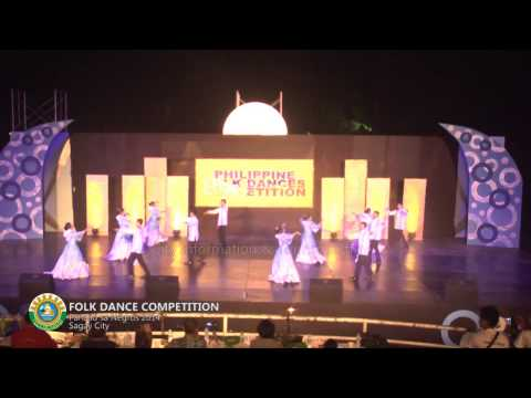 Panaad sa Negros 2014 - Folk Dance - Sagay City