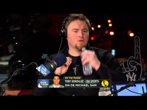 The Artie Lange Show - Tony Gonzalez (phone)