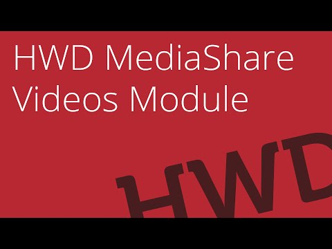 Video module overview