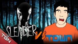 """Slenderman VS Town - """"Slenderman Shadows"""""""