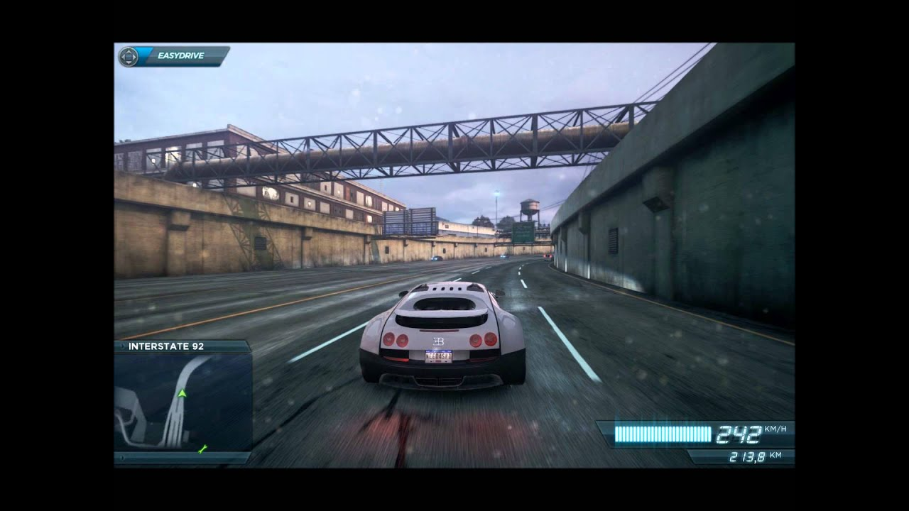 need for speed most wanted 2012 mini video bugatti veyron youtube. Black Bedroom Furniture Sets. Home Design Ideas