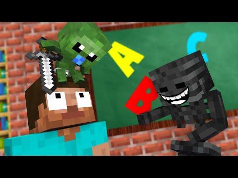 Monster School : ZOMBIE BABY Challenge - Minecraft Animation