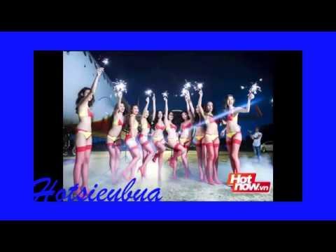 Clip Bikini của Ngọc Trinh | Làm mẫu ảnh cho Vietjet Air