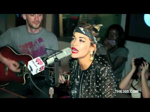 "Rita Ora performing ""How We Do (Party) "" and ""R.I.P."" (Acoustic Versions)"