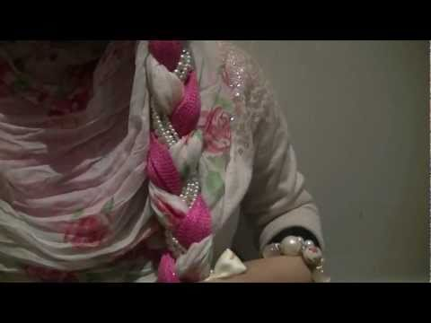 How to wear a Headscarf (Hijaab/ Hijab Tutorial): Party Wear