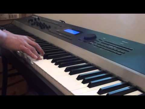 Lily Allen - Somewhere Only We Know - John Lewis Advert - Piano Cover Version - Kurzweil Artis