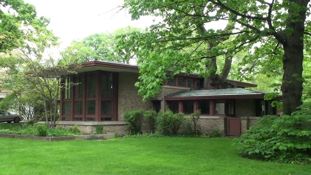 Frank lloyd wright river forest isabel roberts house for Frank lloyd wright river house