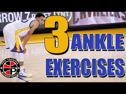 3 Exercies To Strengthen Your Ankles | Sprained or Weak Ankles? Try This | Pro Training Basketball