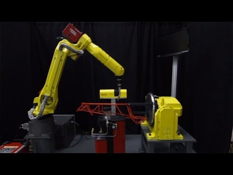 Welding a Go-Kart Frame with FANUC's ARC Mate 120iC Arc Welding Robot