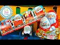 Thomas and Friends Railway Surprise Kinder Egg Trackmaster | Santa Claus and Spencer Video for Kids