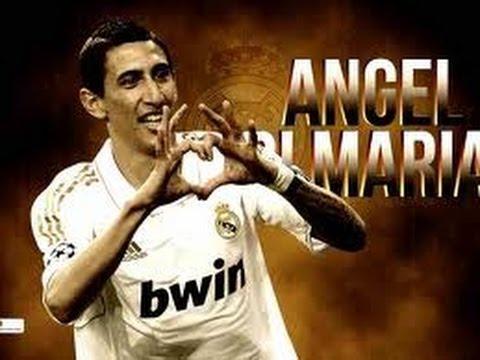 angel di maria~Real Madrid's Angel~skills&goals 2013