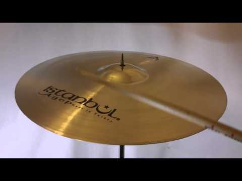 "Istanbul Xist 18"" Crash Cymbal - Brilliant Finish"