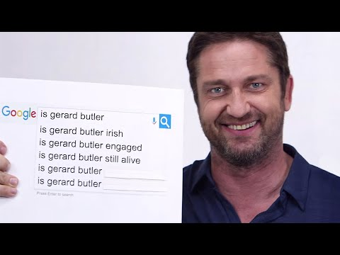 Gerard Butler Answers The Web's Most Searched Questions | WIRED