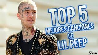 TOP 5 MEJORES CANCIONES DE LIL PEEP
