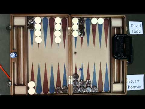Carolina Backgammon FM R3 Stuart Thomson v David Todd