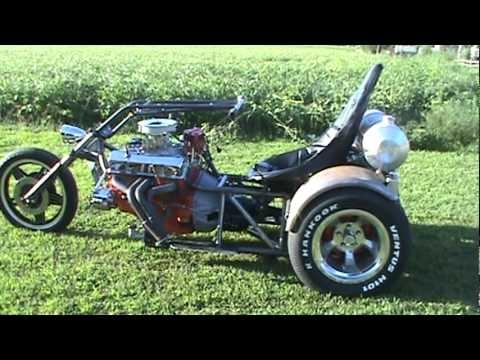 mac motor toys the prototype v8 trike youtube