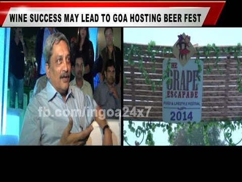 WINE SUCCESS MAY LEAD TO GOA HOSTING BEER FEST: PARRIKAR