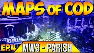 "Call of Duty ""MAPS OF COD"" MW3 ""PARISH"" Ep.4 ""RUSHERS PARADISE"" (Throwback Series)"