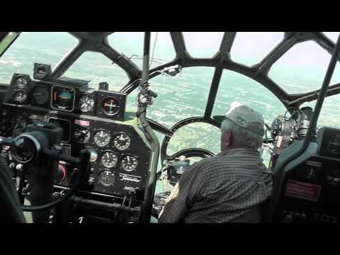b 29 inside  B29 (FiFi) Flying over DFW