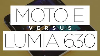 Moto E Vs. Lumia 630 Comparativa