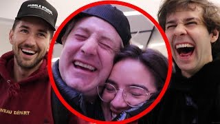 SURPRISING HER WITH FIRST CLASS PLANE TICKET!!